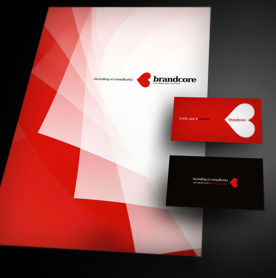 Business Card Design: digitalAM - Brandcore corporate