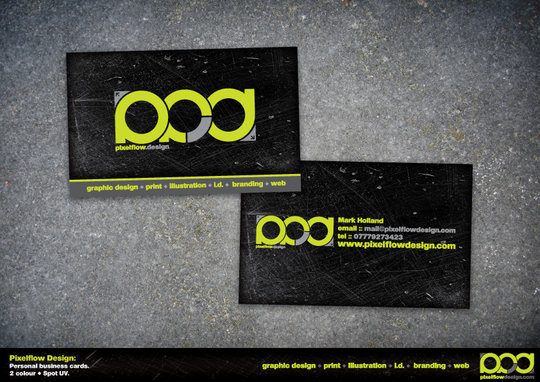Business Card Design: crezo - Pixelflow Design business card