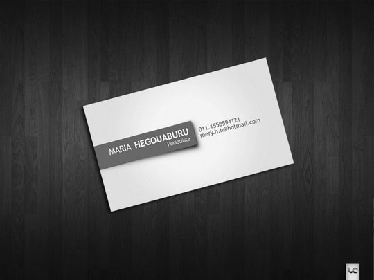 Business Card Design: S0LANGE - Business card Hegouaburu