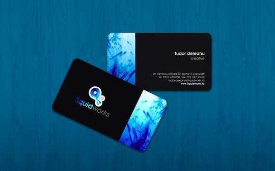 50 beautiful business card designs noupe business card design itudor liquidworks business card reheart Images