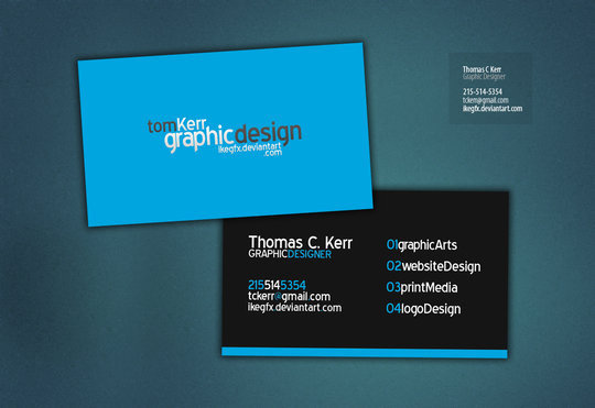Business Card Design: IkeGFX - Business Card