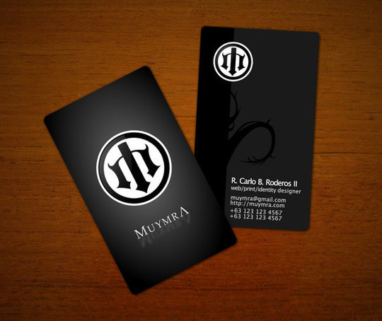 Business Card Design: loc0 - Muymra business cards