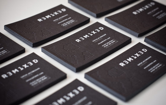 55 beautiful business card designs noupe business card design r3m1x3d business card design colourmoves