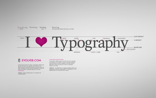 50 Stunning Typography Wallpapers For Inspiration