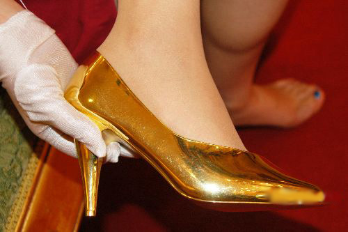 pure-gold-high-heels