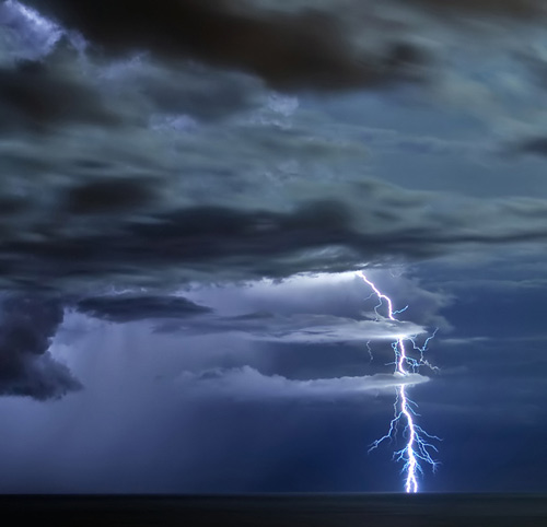 The Beauty of Lightning Photography: A Bolt From The Blue