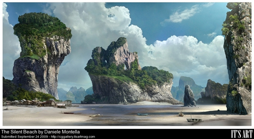 40 Matte Painting Masterpieces