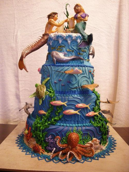 Fabulous Mermaid Wedding Cake 500 x 666 · 77 kB · jpeg