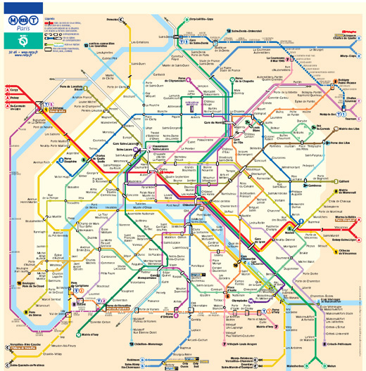 Metro and Underground Maps Designs Around the World