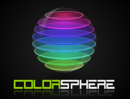 Create a Colorful Sliced Sphere to use as a Logo Design