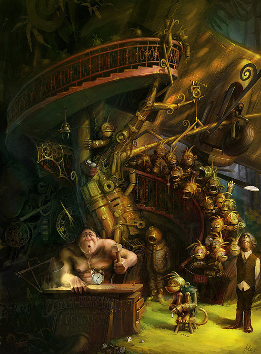 45 stunning steampunk artworks and gadgets