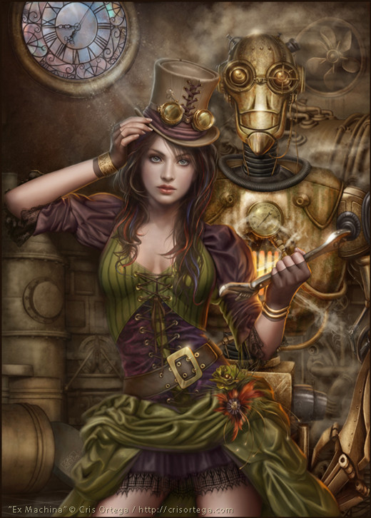 Steampunk Artists Paintings
