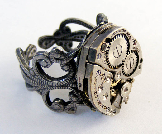 45 Stunning Steampunk Artworks And Gadgets Noupe