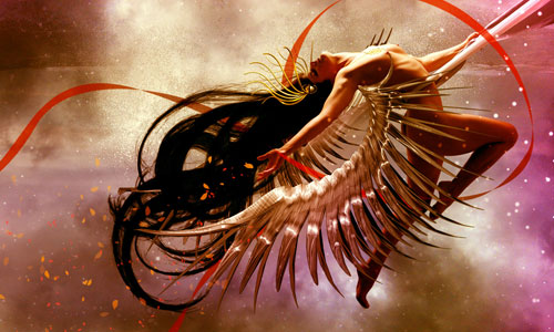 Create a Cosmic Love Goddess With Photoshop CS5