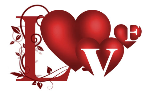 Valentine's Day Photoshop Tutorials