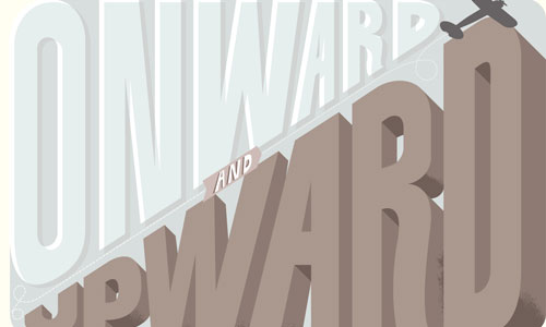 Create a Variety of 3D Lettering Effects for Poster Design
