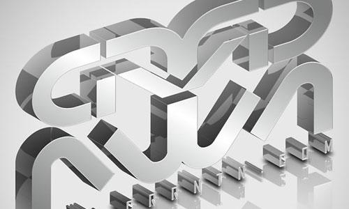 Create Elegant, Glassy, 3D Typography in Photoshop and Illustrator