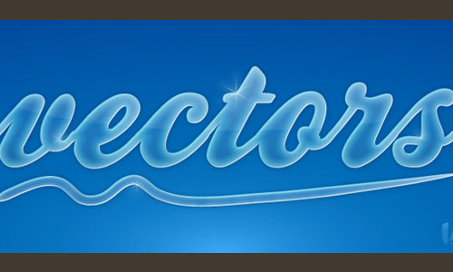 Create a Glossy Smooth Text Effect