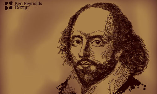 Shakespeare Text Illustration Tutorial