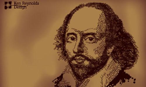 Shakespeare Text Illustration Tutorial