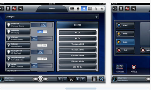 Control4 My Home for iPad