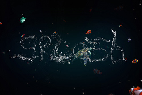 Create a Stunning Liquid Text Effect in Photoshop