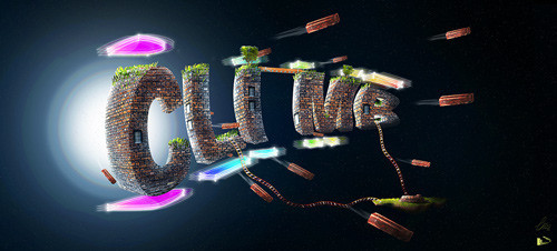 "The Making of ""Climb"" – An Awesome 3D Text Composition in Photoshop"