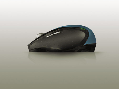 Realistic Computer Mouse