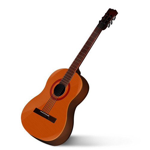 How to Create a Beautiful Guitar Icon in Photoshop