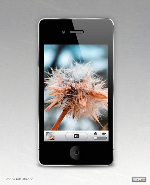 Create an iPhone 4 in Photoshop