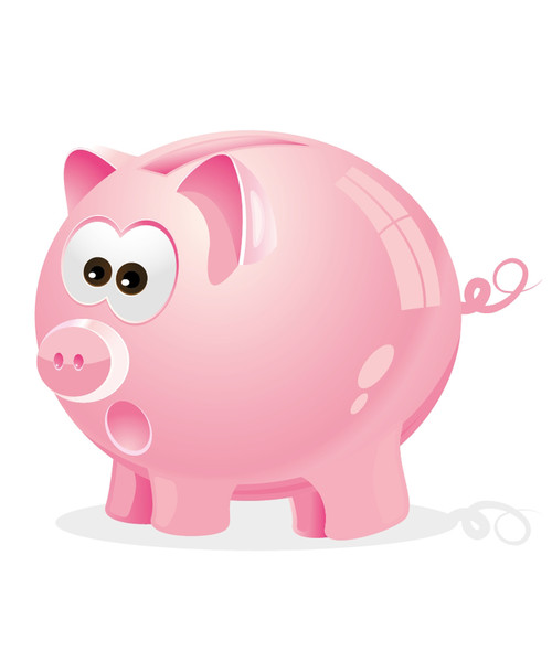 how to create a cute piggy bank in perspective with adobe