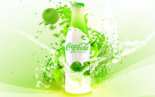 Coca-Cola Green Advertising by David Quartino