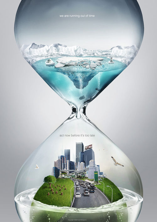 Global warming PSA - time by Pepey
