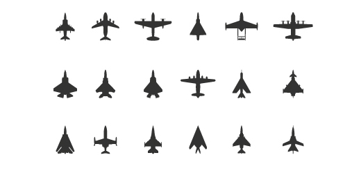 Airplane Icons Free. of 18 free aircraft icons.