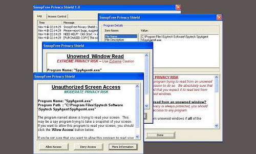 SnoopFree Software