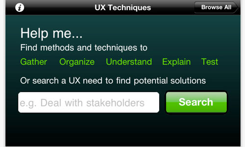 UX Technique