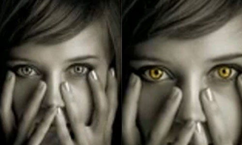 Changing Eye Color - Adobe Photoshop CS5