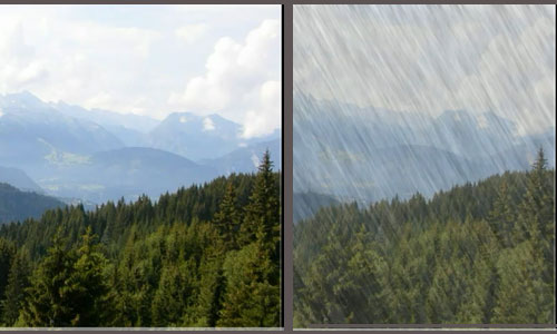 Tutorial Photoshop CS5 - Rain effect
