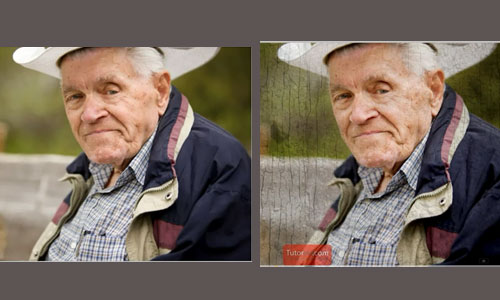 How to Add a Background Texture to a Portrait