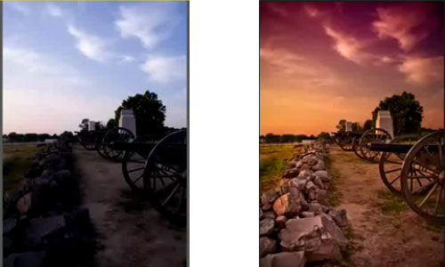Add Dramatic Color to Photographs