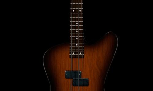 Design a Shiny Bass Guitar Illustration Using Photoshop
