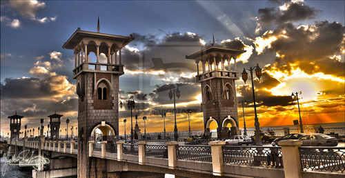 Stanly Bridge Alexandria by Yehiazz