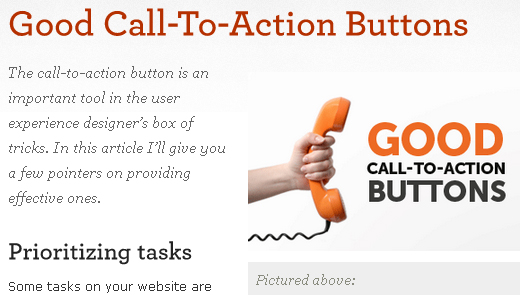blog call to action examples in essays