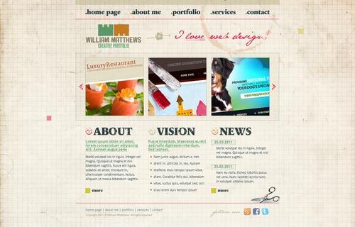 Free HTML/CSS/PSD Template: TemplatesBox