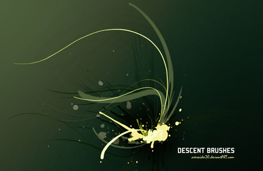 Abstractbrushes29 in 100+ Free High Resolution Photoshop Brush Sets
