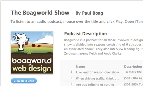 Boagworldshow in Designing the Airwaves: Podcasts Part in Design