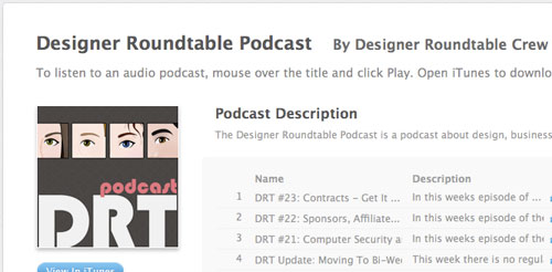 Designerroundtable in Designing the Airwaves: Podcasts Part in Design