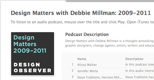 Designmatters in Designing the Airwaves: Podcasts Part in Design