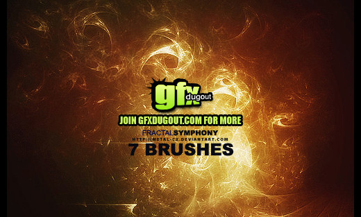 Fractalbrush93 in 100+ Free High Resolution Photoshop Brush Sets