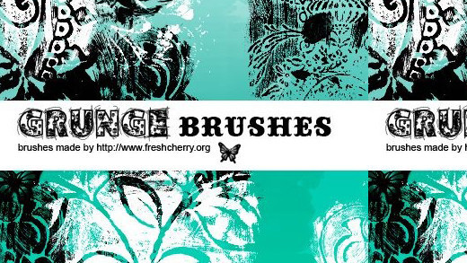 Grungebrushes45 in 100+ Free High Resolution Photoshop Brush Sets